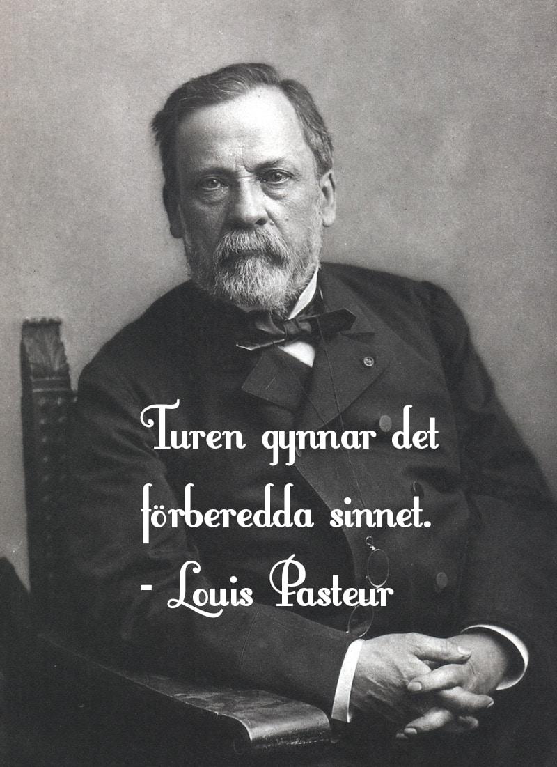 Louis Pasteur citat