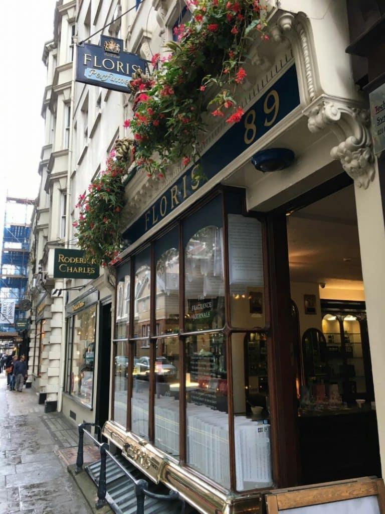Floris London parfymeri