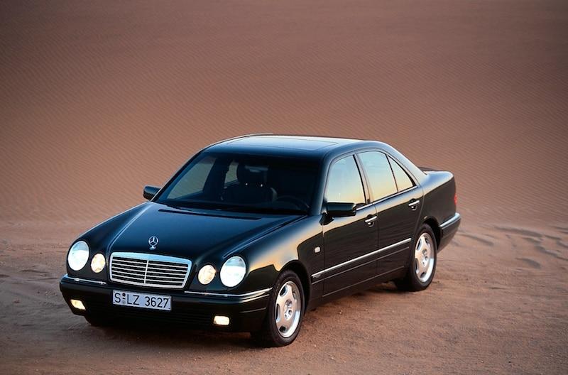 W210 från 1995.