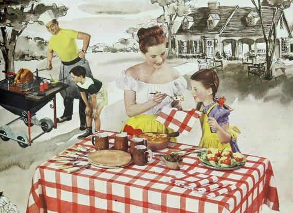 kostråd från 1950-talet