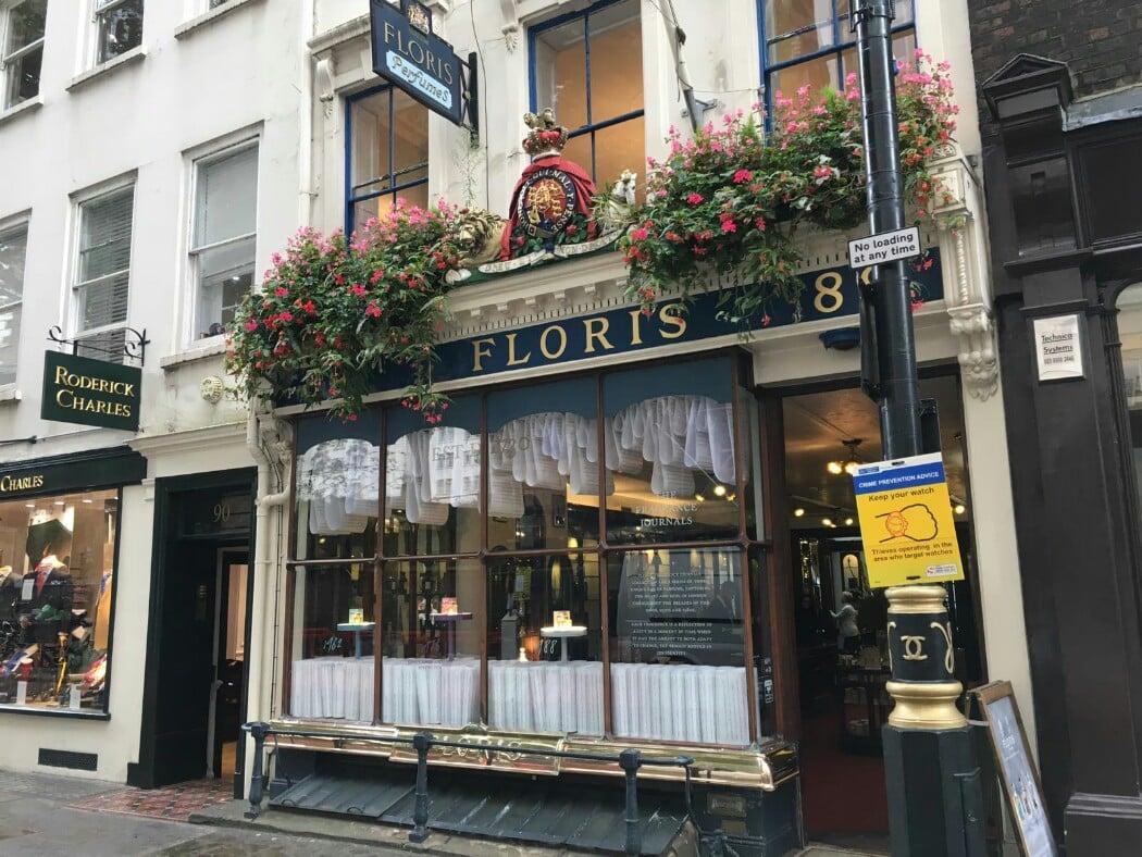 Floris London no 89 Jermyn Street