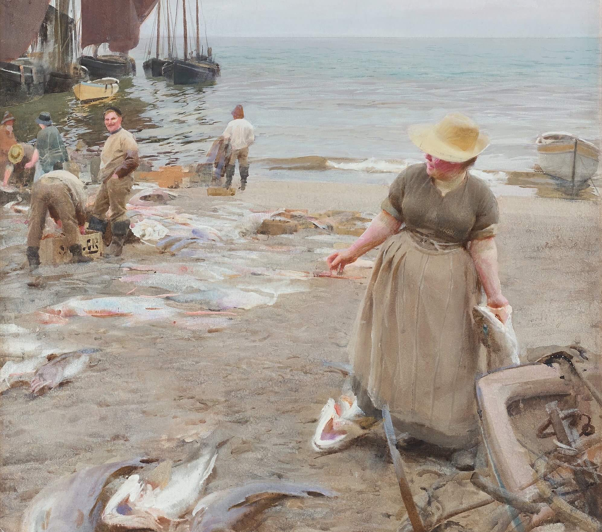 anders zorn fiskmarknad i st. ives