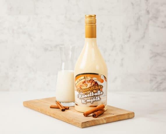 dessertlikören kanelbulle & mjölk