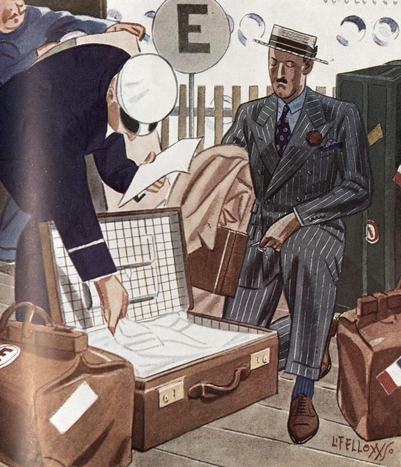 Travel style 1930s