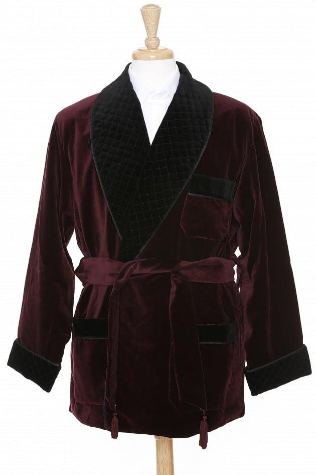 rökrock utbud velvet smoking jacket