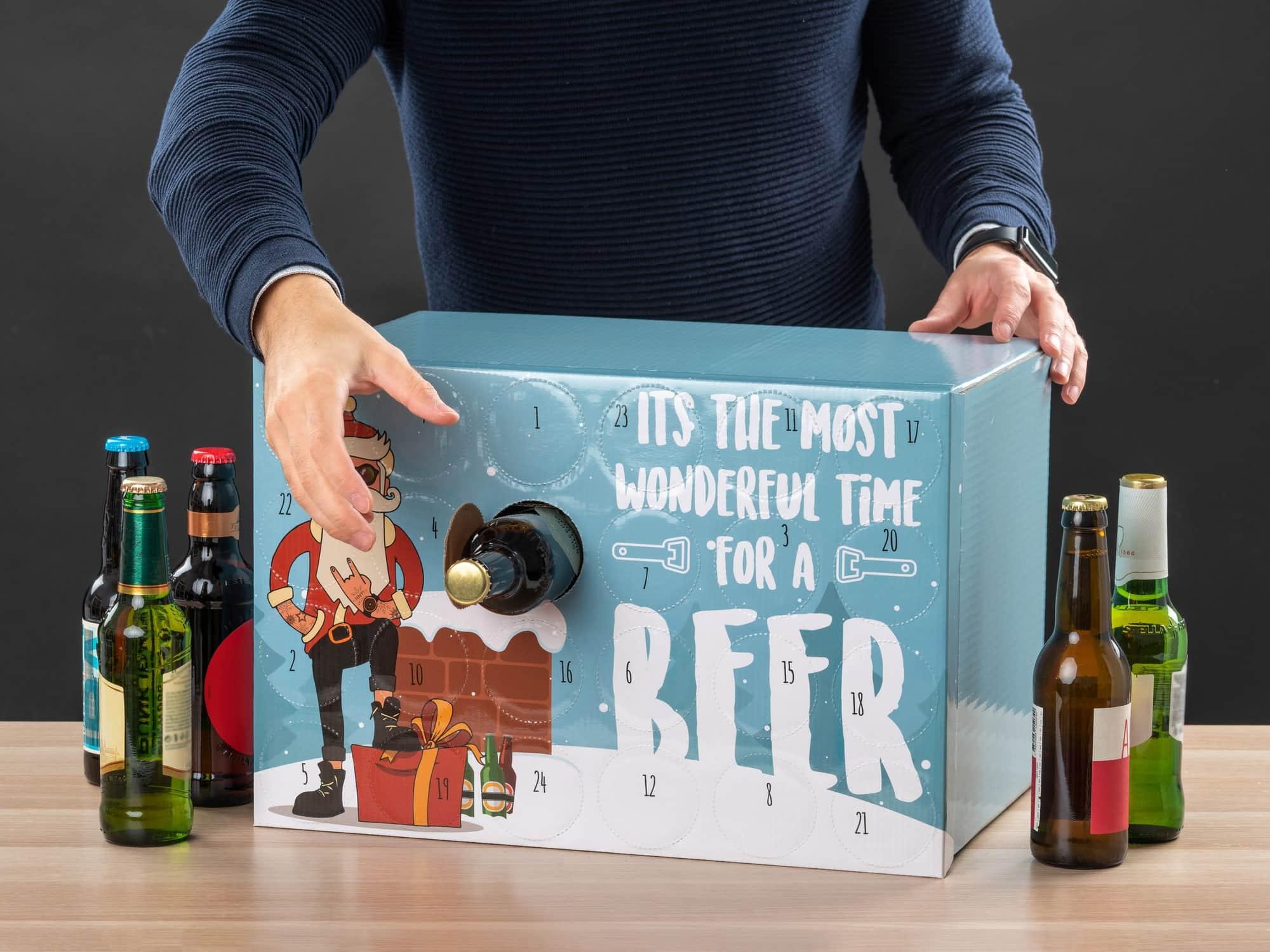 gör din egen öl adventskalender