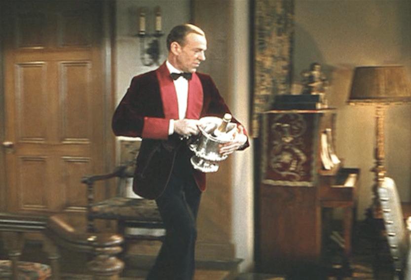 fred Astaire rökrock