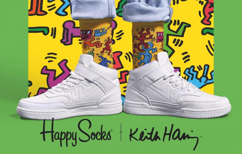 happy socks keith haring samarbete