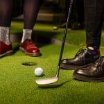 Golfbar med inspiration från 1930-talet