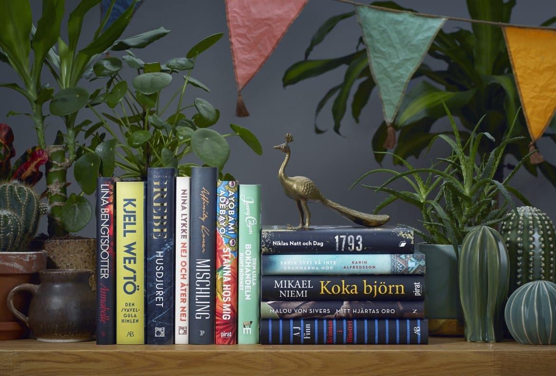 Bra böcker till sommarsemestern 2018