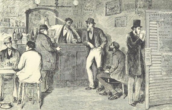 den första drinkboken cocktailboken som någonsin publicerats