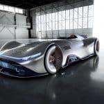 Mercedes visade upp eldriven silverpil