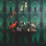 Tapetkollektion med influenser från den viktorianska eran