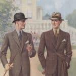 Engelskt herrmode från 1930-talet
