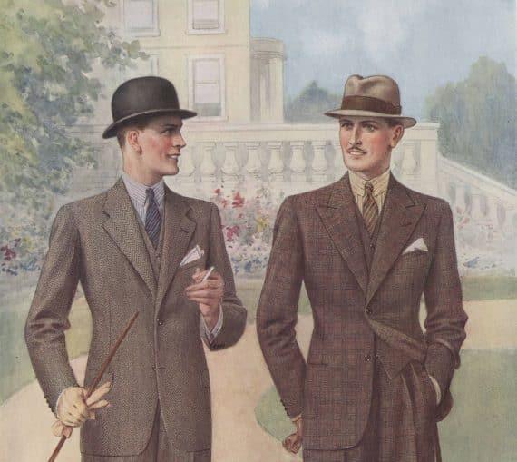 engelskt mode 1930-talet