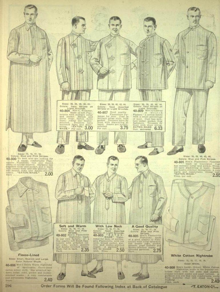 nattskjorta för män