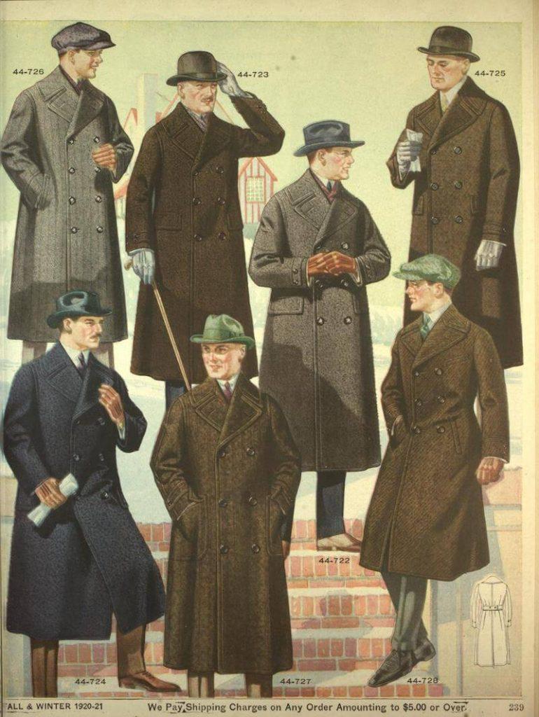 stiltips för män rockar för vinter och höst