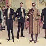 Aftonklädsel från den Viktorianska eran