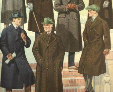 herrmode höst vinter 1920-talet