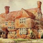 Charmerande engelska stugor från början av 1900-talet