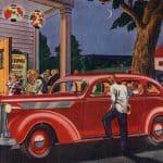 Den gyllene eran för klassiska amerikanska bilar