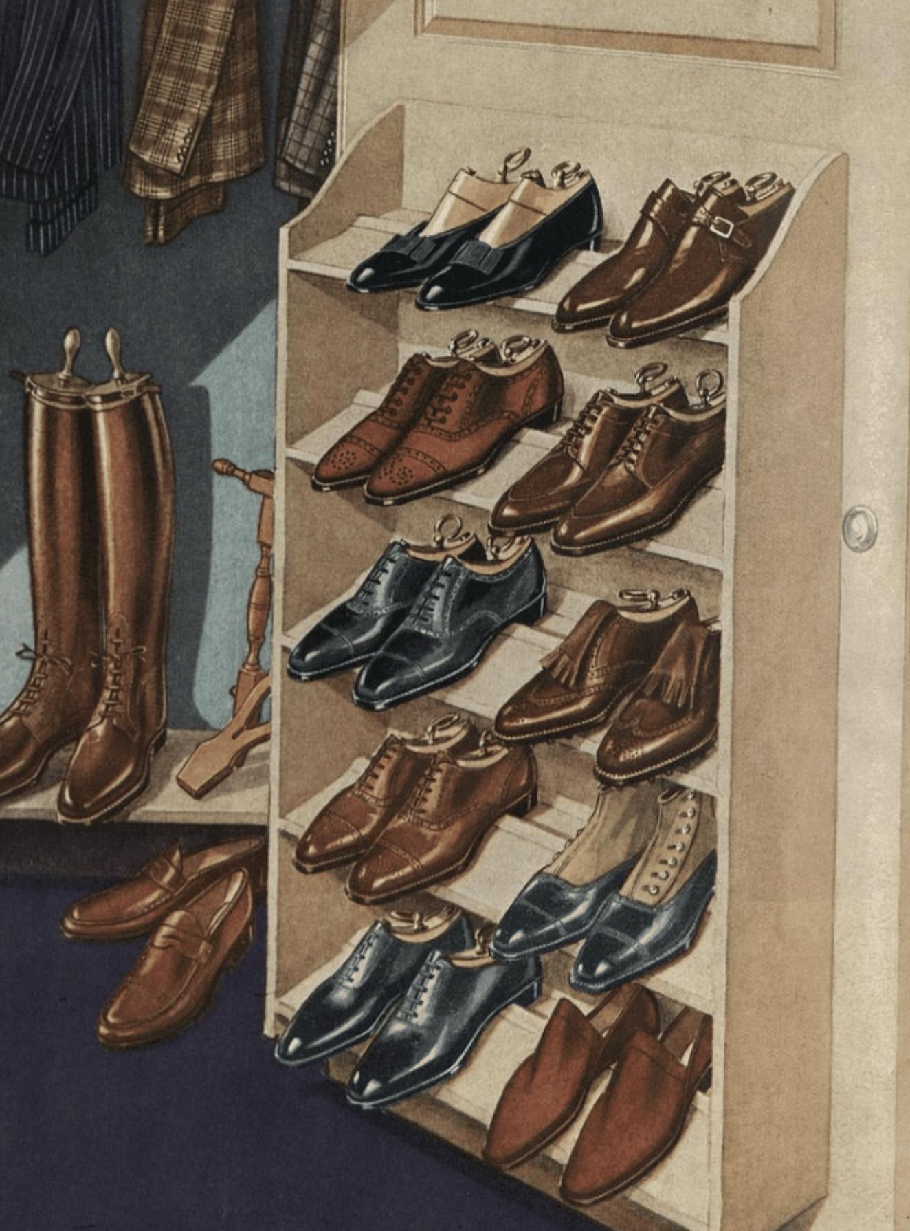 klassiska skomodeller för herrar