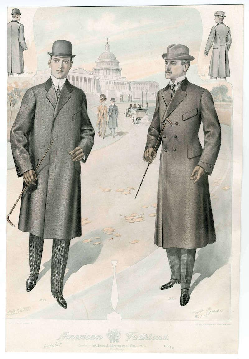 mode för män höst vinter 2020 jackor