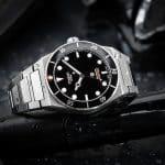 Tusenö presenterar nya automatiska klockan Blackwater