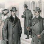 Snygga ytterplagg för män från 1909-1910