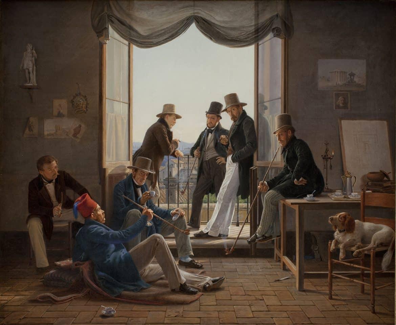 dansk konst på nationalmuseum under våren
