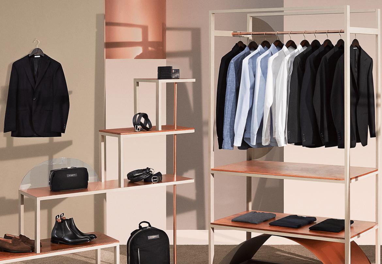 bygg upp en klassisk garderob av kläder