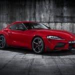 Världspremiär för sportbilen Toyota GR Supra