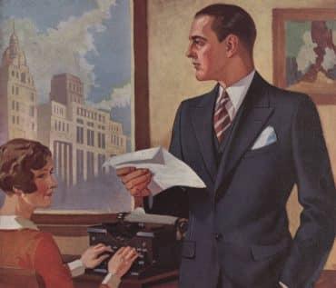 herrmodet 1930-talet