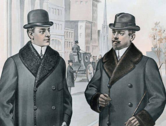 varma och snygga ytterrockar för män