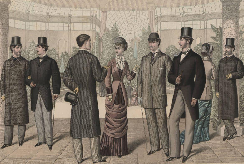 modet i mitten av 1800-talet