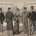 Formell klädsel på 1850-talet