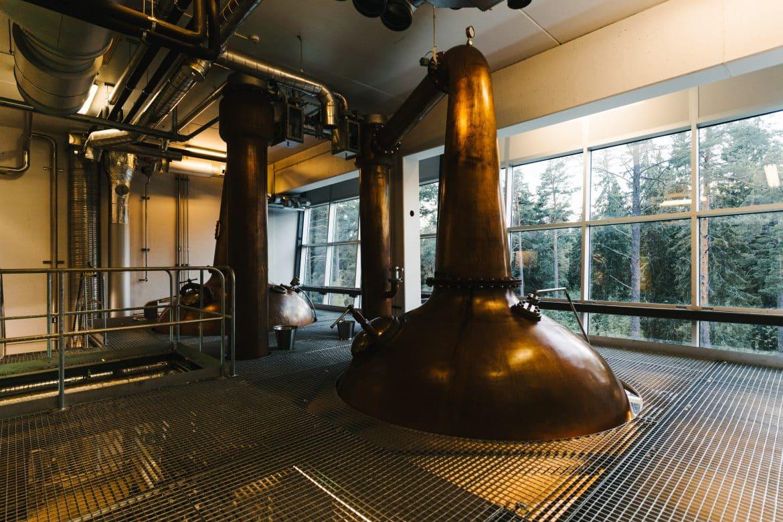 Mackmyra whisky kopparpannor