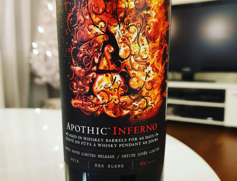 rött vin på whiskyfat