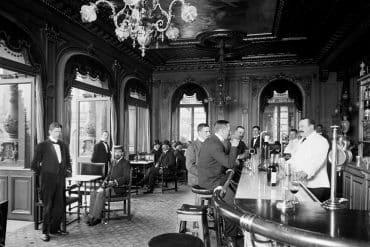 baren vid hotel rydberg år 1903