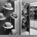 Hattmodet på 1940- och 1950-talet