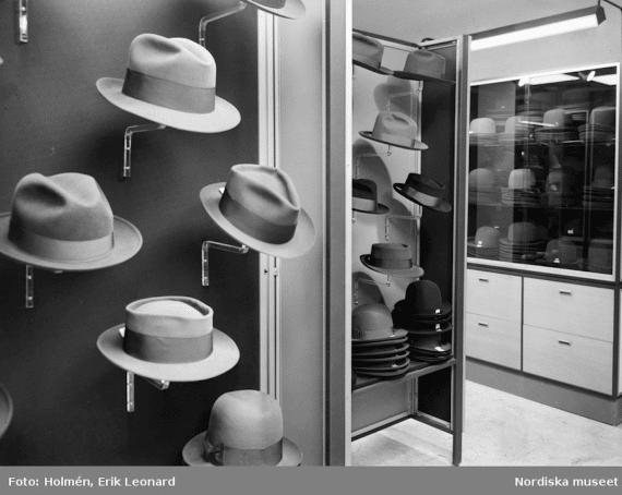 hattmode 1940 1950