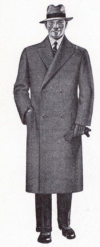 klassiskt herrmode 1920-tal