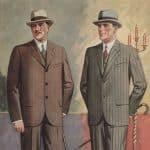Elegans på scenen och i salongen - herrmode från 1927
