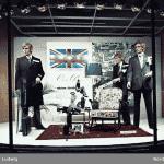 Fönstershopping hos NK på 1970-talet