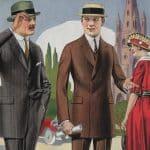 Herrmodet våren och sommaren 1920 - Ett årtionde när kostymen befäste sin ställning