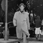 Nordiska Kompaniets herrskrädderi förevisar 1940-talets herrmode