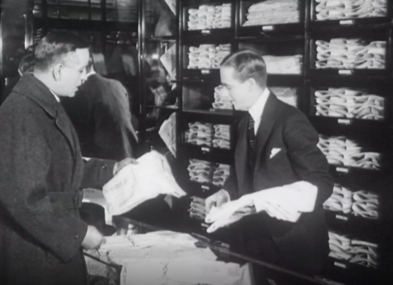 shopping 1920-talet