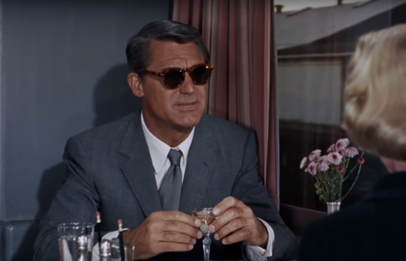 cary grant solglasögon north by northwest
