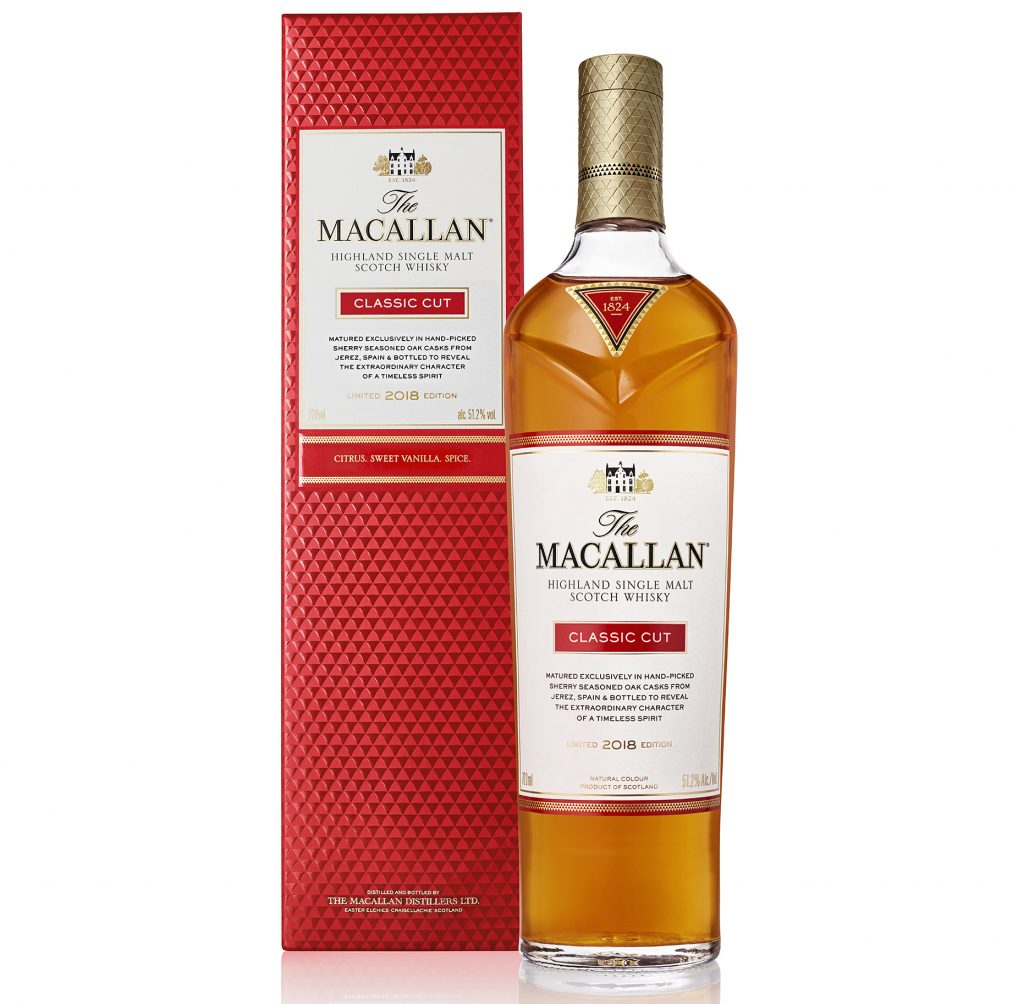 macallan 2018 classic cut edition