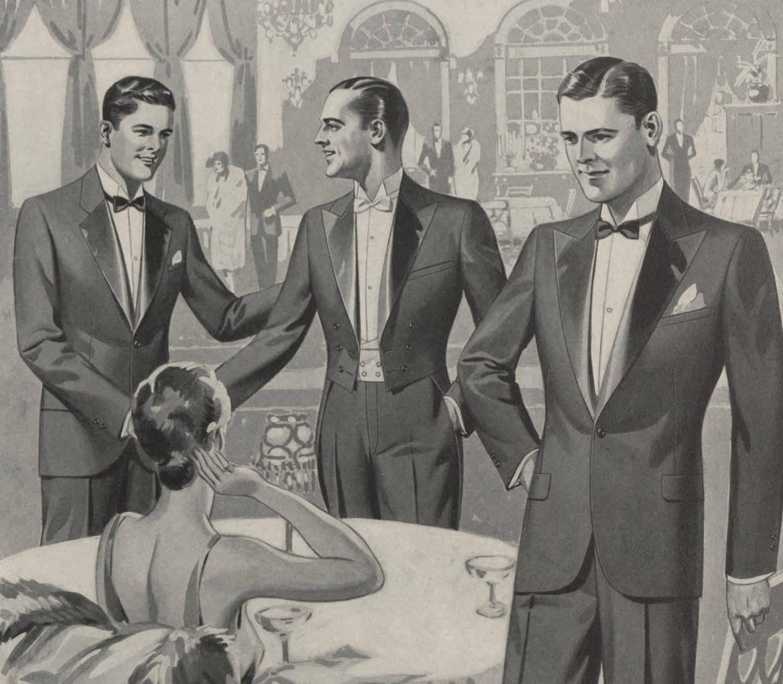 herrmodet på 1920-talet